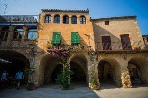 middelalderlandsbyer i Catalonien