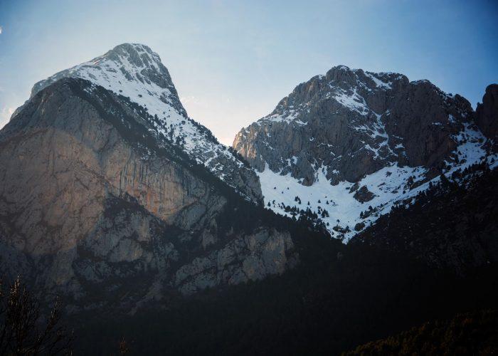 Udflugt i bjergene