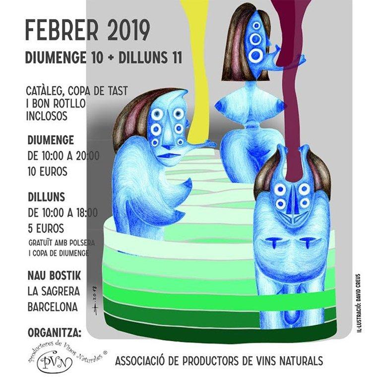 Naturlig vinmesse i Barcelona 2019